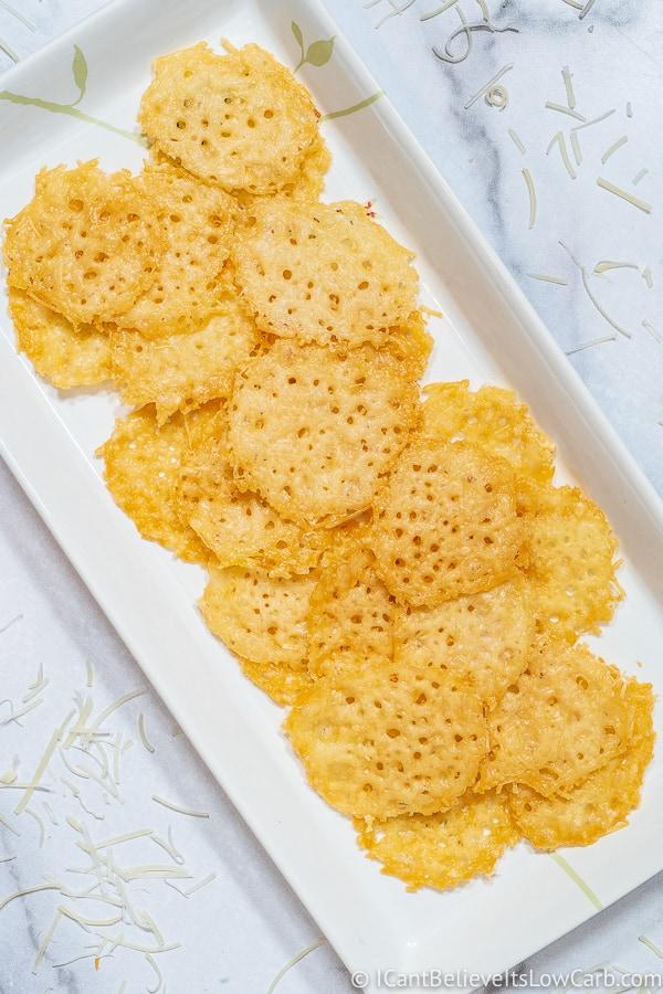 Parmesan Crisps Keto