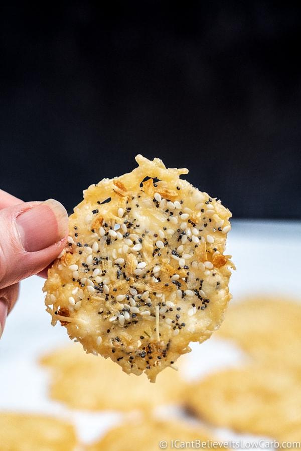 Parmesan Crisps cheese crackers