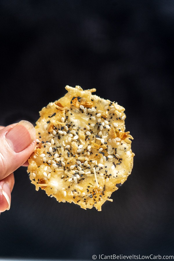 Parmesan Crisps ready to eat and low carb