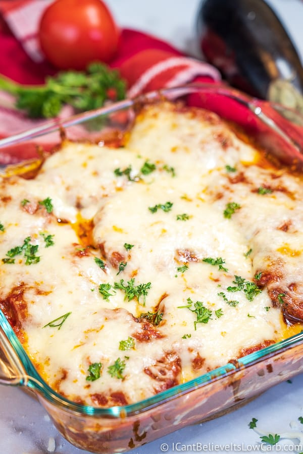 How to make Low Carb Eggplant Parmesan