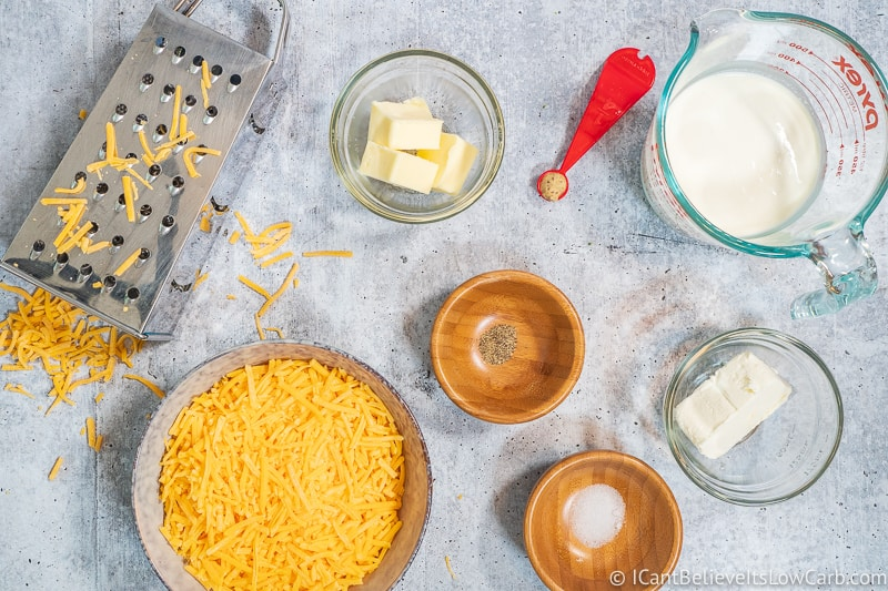 Keto Cheese Sauce Ingredients