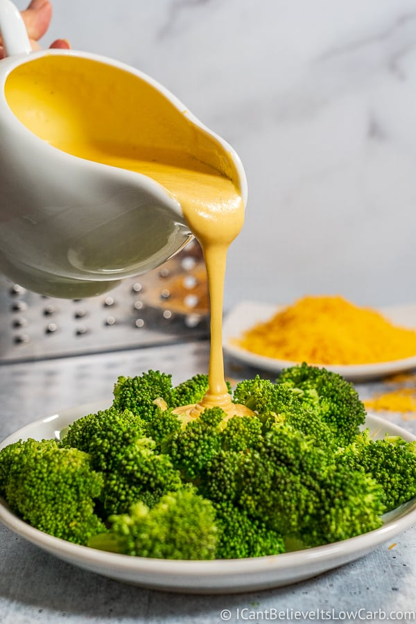 Keto Cheddar Cheese Sauce