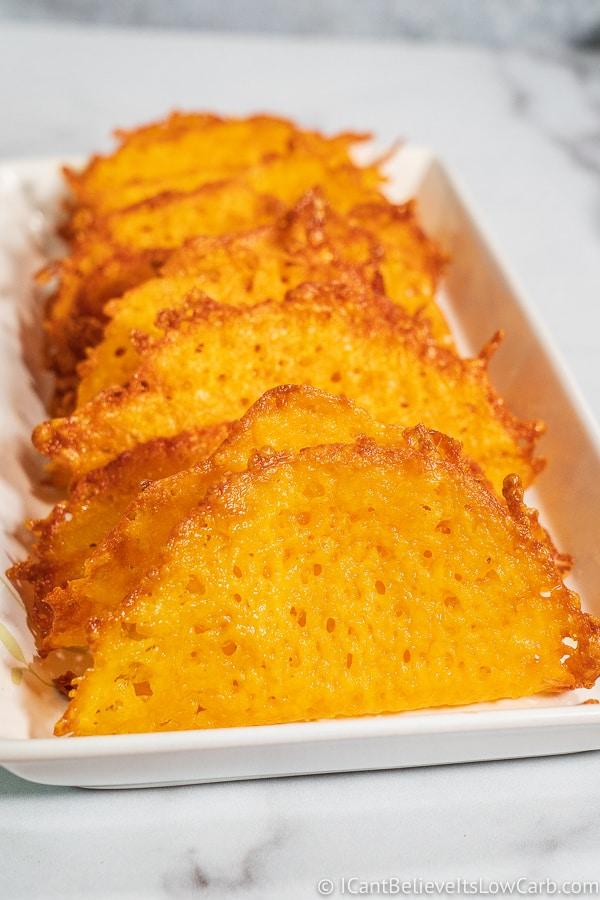 Keto Cheese Taco Shells Recipe