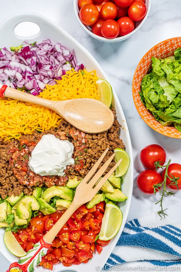 easy low carb Taco Salad