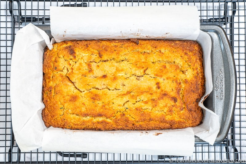 freshly baked Zucchini Bread
