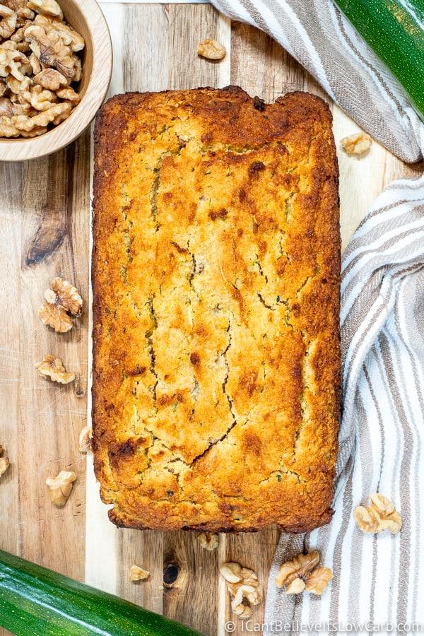 Low Carb Zucchini Bread Recipe