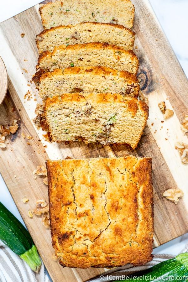 Almond Flour Zucchini Bread Recipe