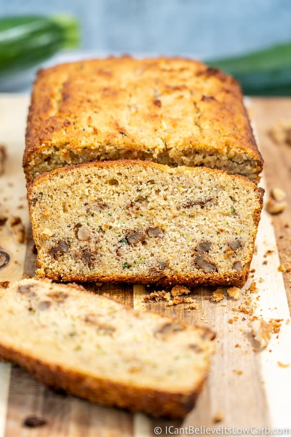 Easy Almond Flour Zucchini Bread