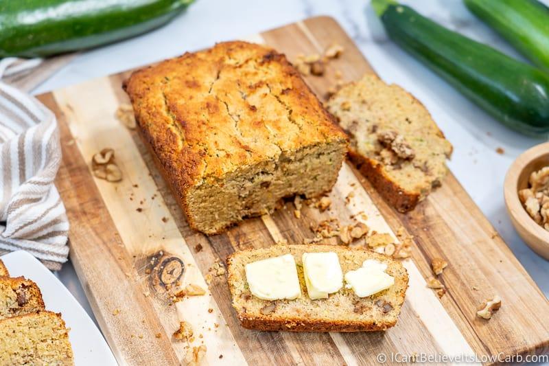 Best Low Carb Zucchini Bread