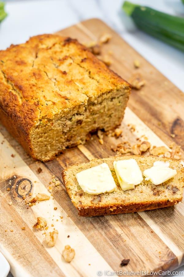 Best Almond Flour Zucchini Bread