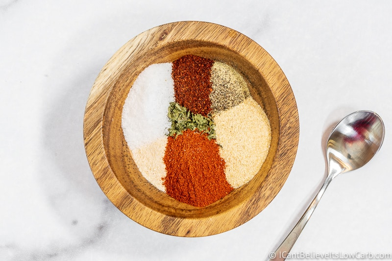 Keto French Fries spices