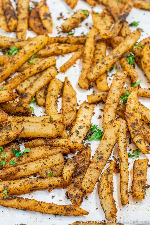 Low Carb Jicama Fries Recipe