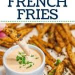 Crispy Keto French Fries from Jicama