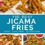 The Best Jicama Fries Keto and Low Carb