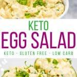 Keto Egg Salad Recipe pin