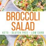 Keto Broccoli Salad Pin 2