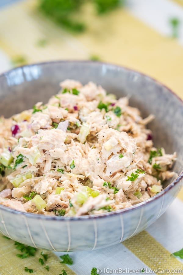Easy Low Carb Tuna Salad