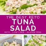 Best Keto Tuna Salad Pin