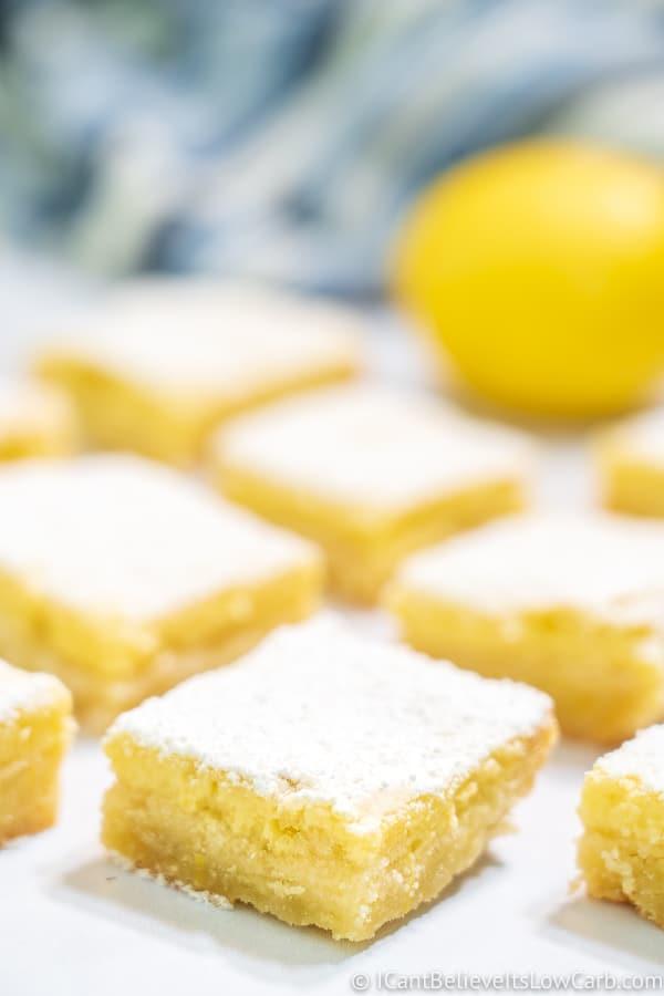 Easy Keto Lemon Bars