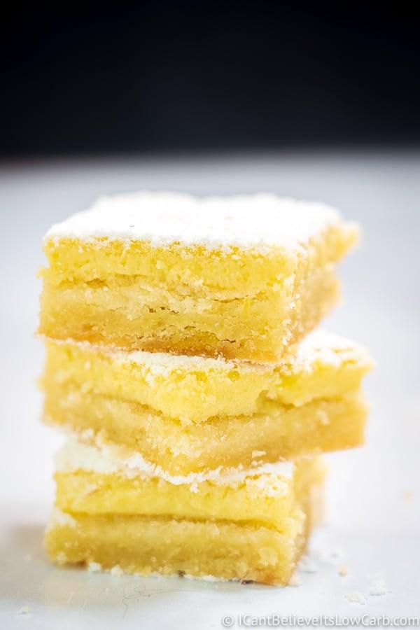 The Best Keto Lemon Bars
