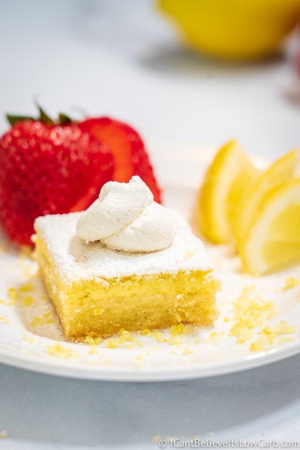 Keto Lemon Bar Recipe