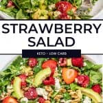 strawberry salad pinterest