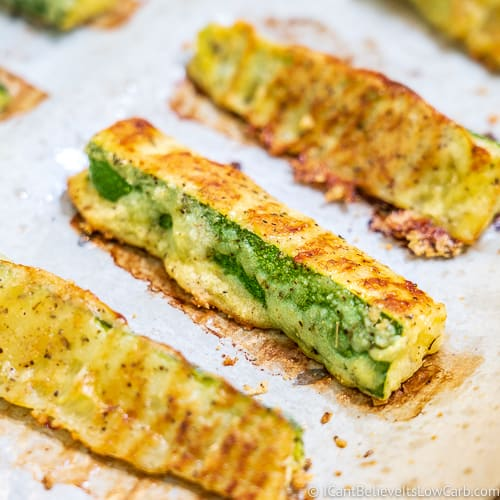 Baked Zucchini Fries feature