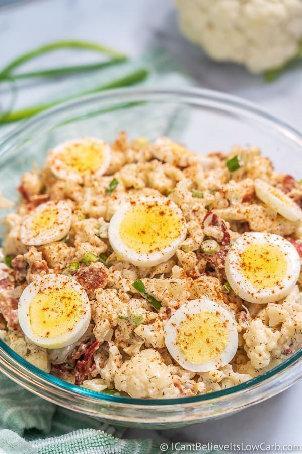 Keto Cauliflower Potato Salad