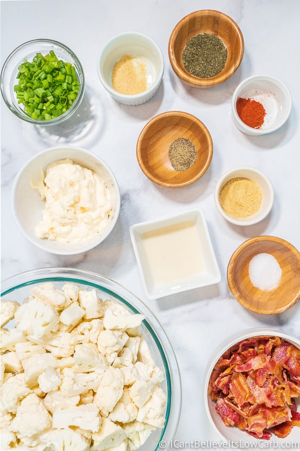 Ingredients Cauliflower Potato Salad