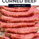 How to Cook Corned Beef Pinterest Pin
