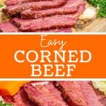 Corned Beef Pinterest Pin