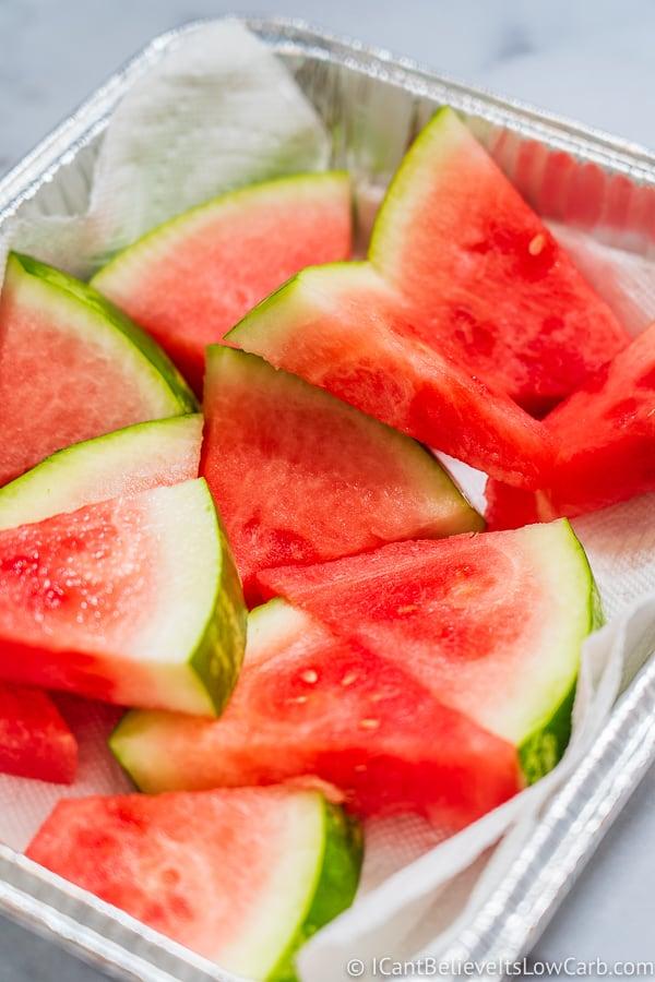 Cutting Watermelon into triangles