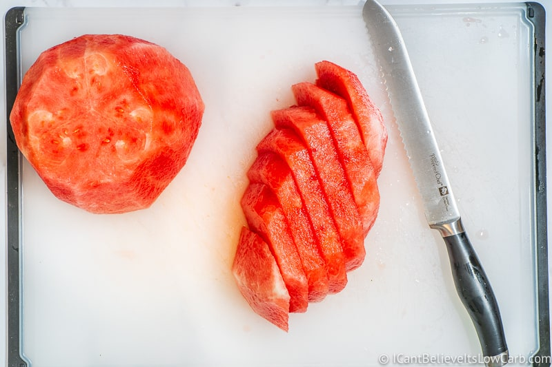 How to cut Watermelon into cubes