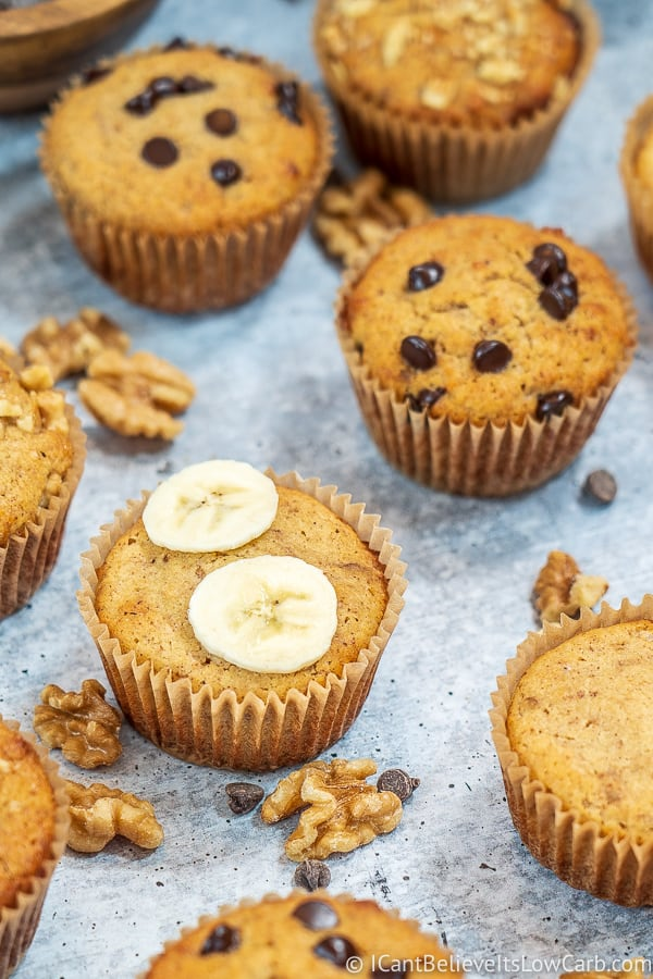 Best Banana Muffins with almond flour