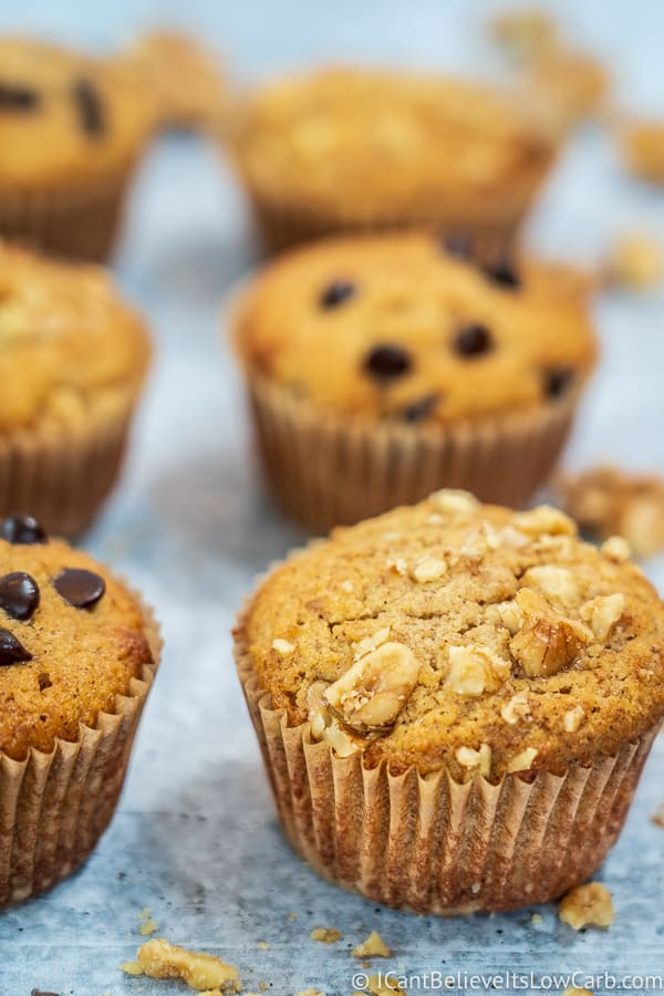 Almond Flour Banana Muffins recipe