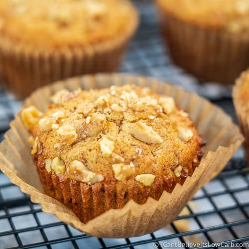 Keto Banana Muffins recipe