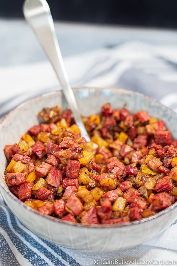 Homemade Keto Corned Beef Hash recipe