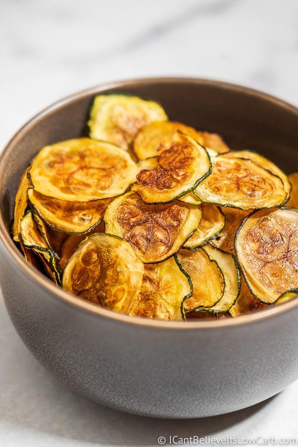 Bowl of Zucchini Chips