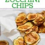 Zucchini Chips Pinterest pin