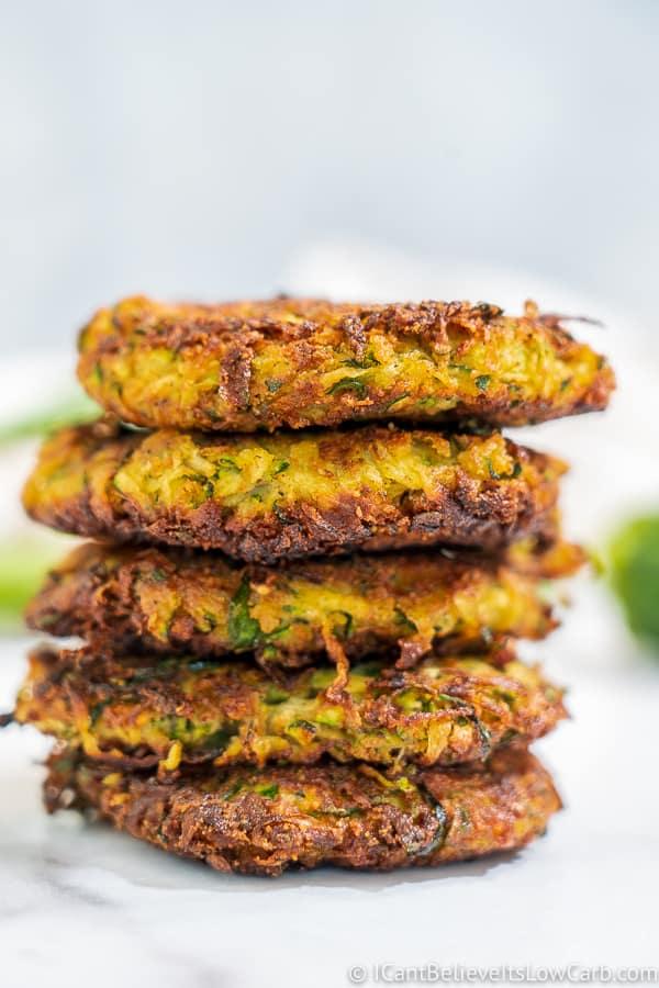 Best Keto Zucchini Fritters