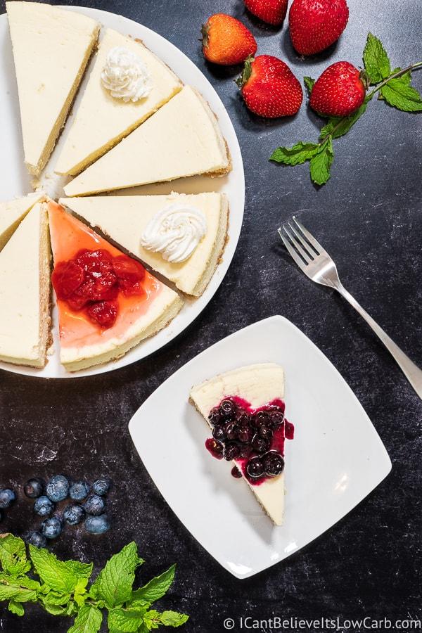 Easy Sugar-Free Cheesecake