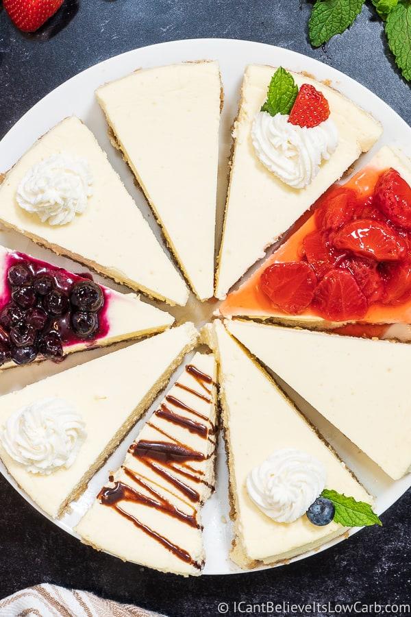 Keto Cheesecake of all varieties