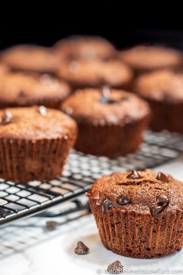 Sugar-Free Chocolate Muffins