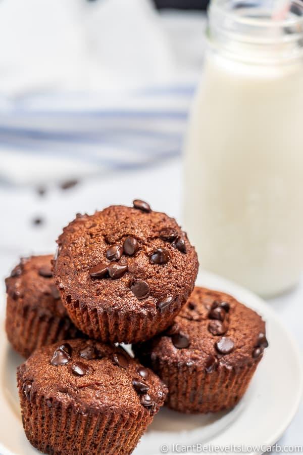 Easy Keto Chocolate Muffin Recipe