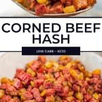 Low Carb Corned Beef Hash Pinterest Pin