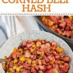 Keto Corned Beef Hash Pinterest Pin