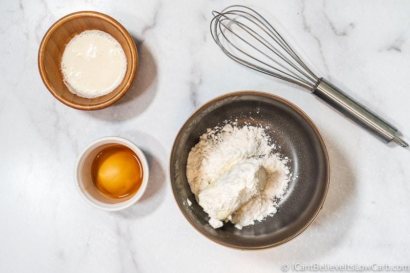 adding swerve to cream cheese