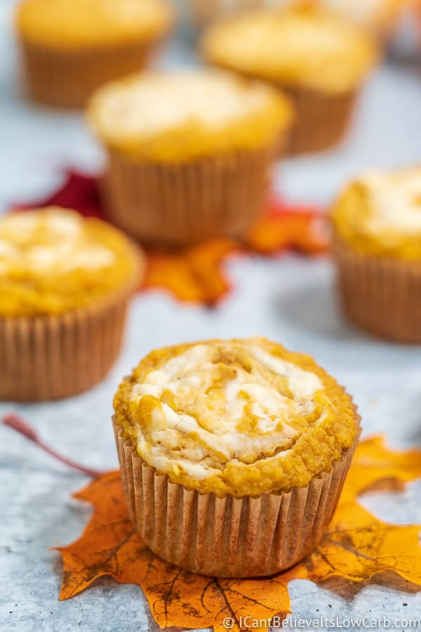 Easy Keto Pumpkin Muffins