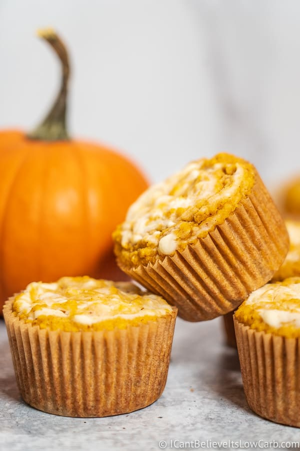 Keto Pumpkin Muffins Recipe