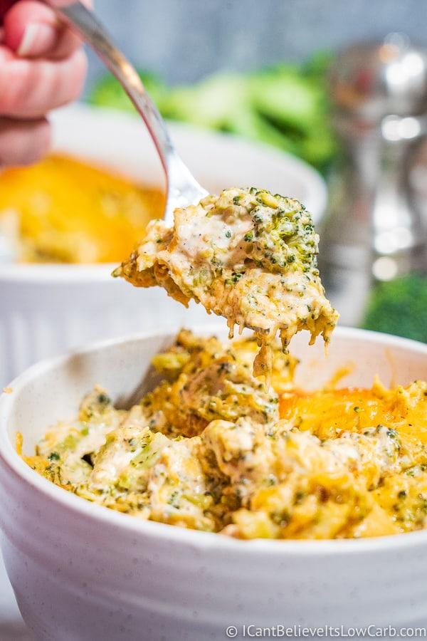 Easy Keto Broccoli Casserole